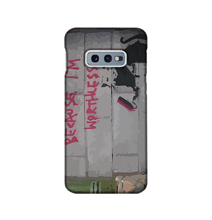 Banksy Worthless Rat Phone Case Samsung S10e
