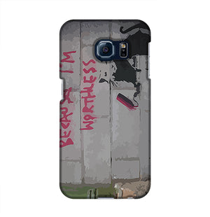 Banksy Worthless Rat Phone Case Samsung S6 Edge