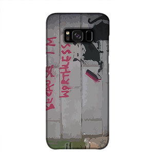 Banksy Worthless Rat Phone Case Samsung S8