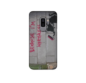 Banksy Worthless Rat Phone Case Samsung S9 Plus
