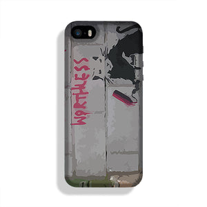 Banksy Worthless Rat Phone Case iPhone 5