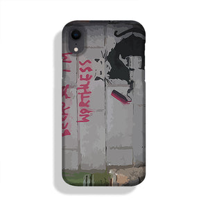 Banksy Worthless Rat Phone Case iPhone XR