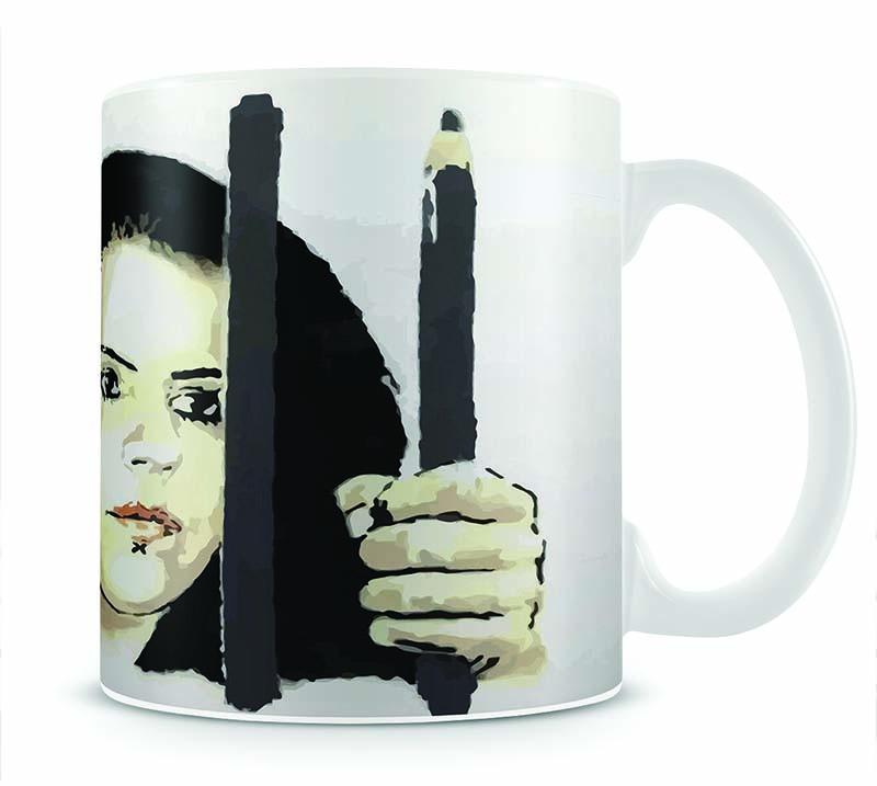 Banksy Zehra Dogan New York Mug - Canvas Art Rocks - 1