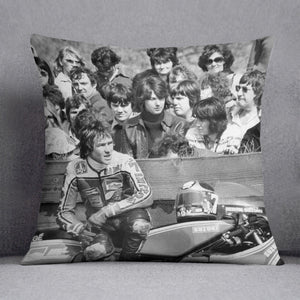 Barry Sheene motorcycle racer Cushion