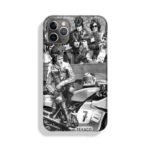 Barry Sheene motorcycle racer Phone Case iPhone 11 Pro Max