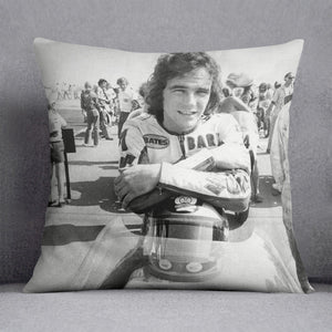 Barry Sheene motorcycle racing champion Cushion