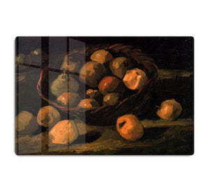 Basket of Apples by Van Gogh HD Metal Print