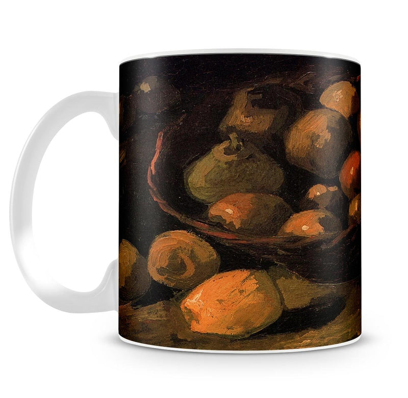 Basket of Apples by Van Gogh Mug - Canvas Art Rocks - 4
