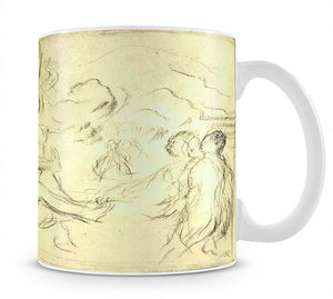 Bather 2 by Renoir Mug - Canvas Art Rocks - 1