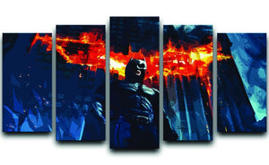 Batman 5 Split Panel Canvas  - Canvas Art Rocks - 1