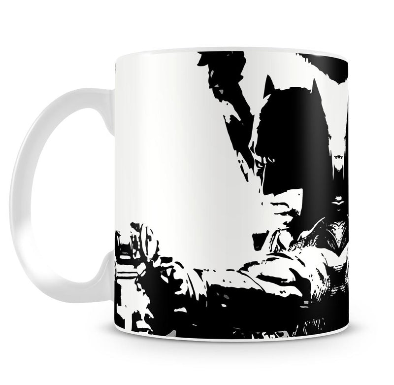 Batman Pop Art Mug - Canvas Art Rocks
