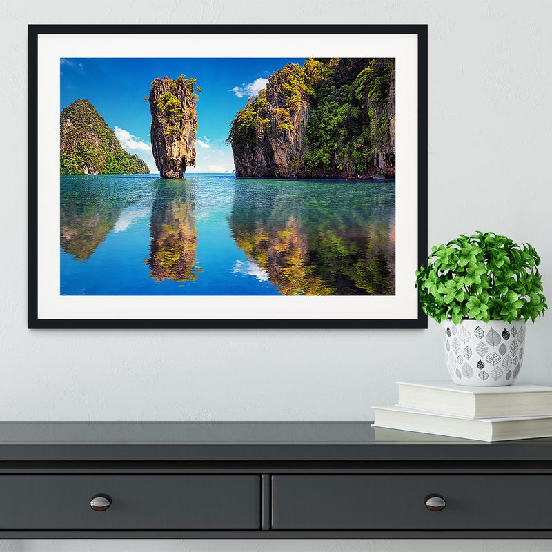 Beautiful nature of Thailand Framed Print - Canvas Art Rocks - 1