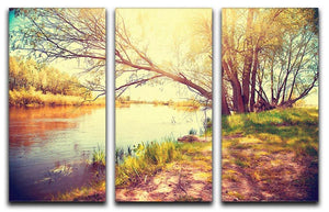 Beautiful scene 3 Split Panel Canvas Print - Canvas Art Rocks - 1