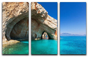 Beautiful sea landscapes 3 Split Panel Canvas Print - Canvas Art Rocks - 1