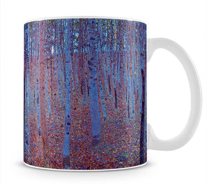 Beech Forest by Klimt Mug - Canvas Art Rocks - 1