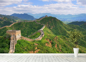 Beijing Great Wall of China Wall Mural Wallpaper - Canvas Art Rocks - 4