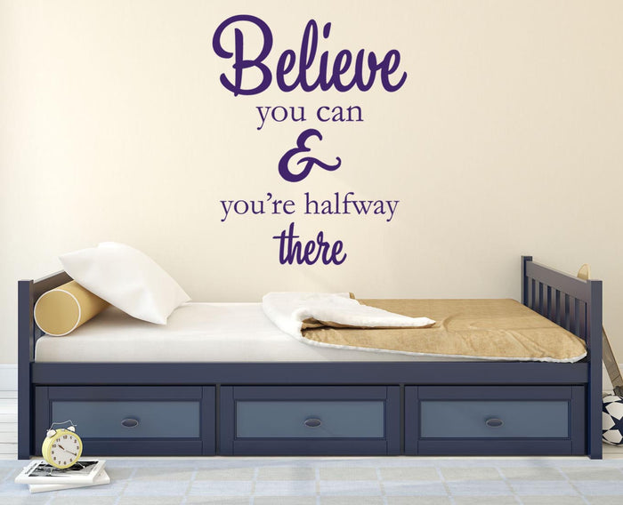 Believe Wall Sticker