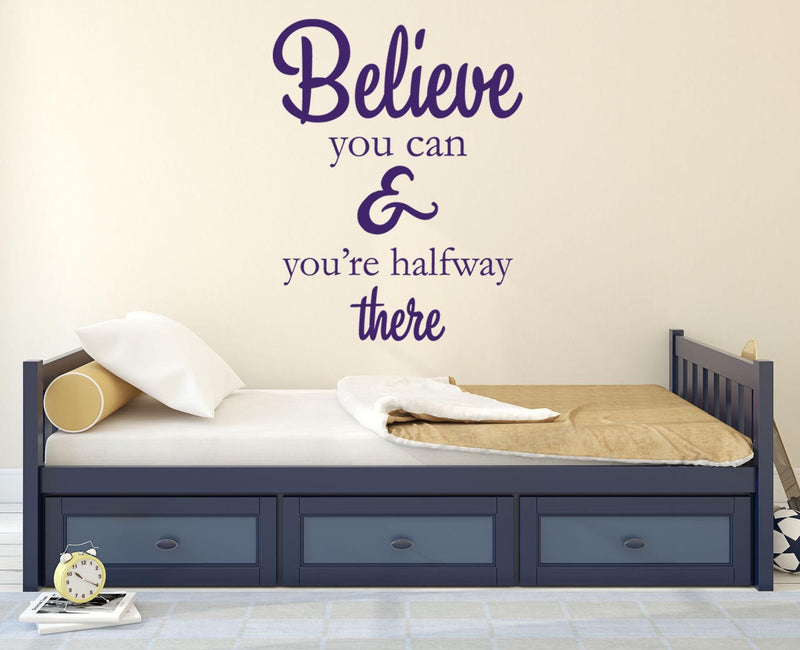 Believe Wall Sticker - Canvas Art Rocks - 1