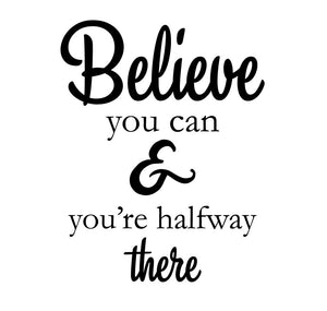 Believe Wall Sticker - Canvas Art Rocks - 2