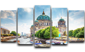 Berlin Cathedral Berliner Dom 5 Split Panel Canvas  - Canvas Art Rocks - 1