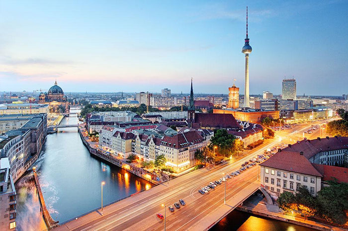 Berlin skyline Wall Mural Wallpaper