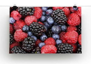 Summer Berries Print - Canvas Art Rocks - 2