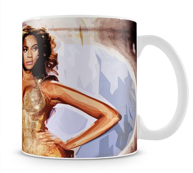 Beyonce Live Mug - Canvas Art Rocks - 1
