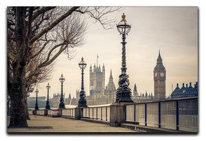 Big Ben and Houses of parliament Canvas Print or Poster  - Canvas Art Rocks - 1