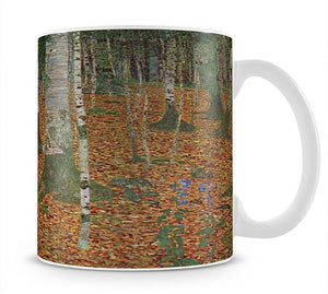 Birch Forest by Klimt Mug - Canvas Art Rocks - 1