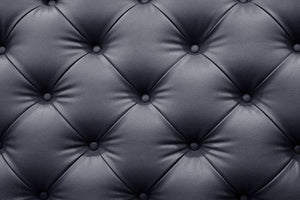 Black leather sofa texture Wall Mural Wallpaper - Canvas Art Rocks - 1