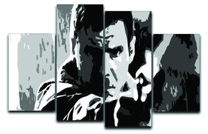 Blade Runner Pop Art 4 Split Panel Canvas  - Canvas Art Rocks - 1