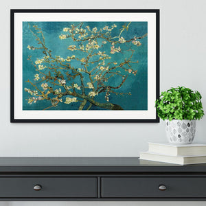 Blossoming Almond Tree by Van Gogh Framed Print - Canvas Art Rocks - 1
