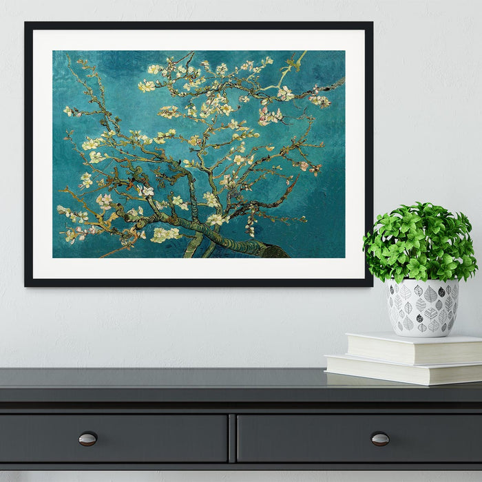 Blossoming Almond Tree by Van Gogh Framed Print