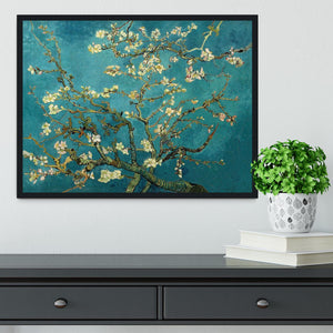 Blossoming Almond Tree by Van Gogh Framed Print - Canvas Art Rocks - 2