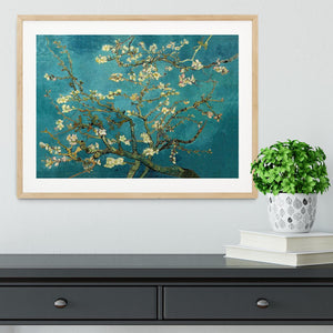 Blossoming Almond Tree by Van Gogh Framed Print - Canvas Art Rocks - 3
