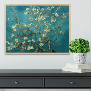 Blossoming Almond Tree by Van Gogh Framed Print - Canvas Art Rocks - 4