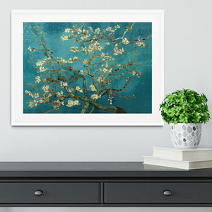 Blossoming Almond Tree by Van Gogh Framed Print - Canvas Art Rocks - 5