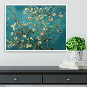 Blossoming Almond Tree by Van Gogh Framed Print - Canvas Art Rocks -6