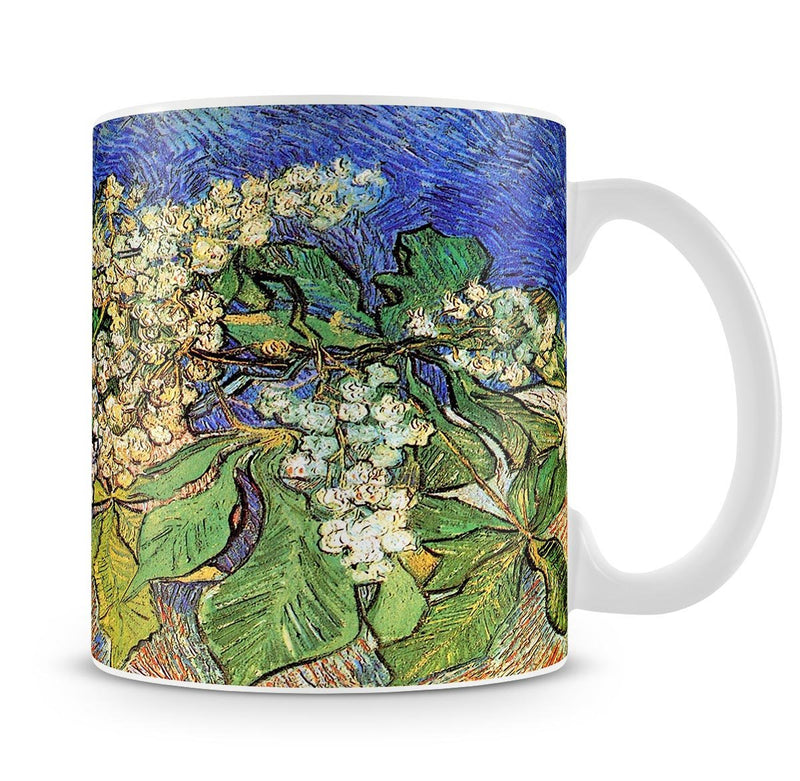 Blossoming Chestnut Branches by Van Gogh Mug - Canvas Art Rocks - 4
