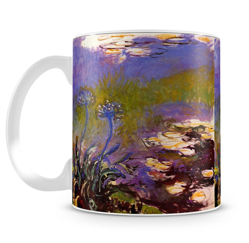 Blue Tuberosen by Monet Mug - Canvas Art Rocks - 4