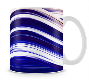 Blue Wave Mug - Canvas Art Rocks - 1