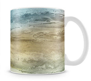 Blue and Grey Painting Mug - Canvas Art Rocks - 1