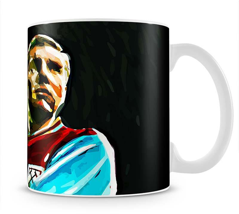Bobby Moore Mug - Canvas Art Rocks - 1