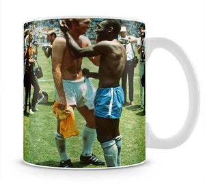Bobby Moore and Pele Mug - Canvas Art Rocks - 1