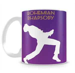 Bohemian Rhapsody Minimal Movie Mug - Canvas Art Rocks - 2