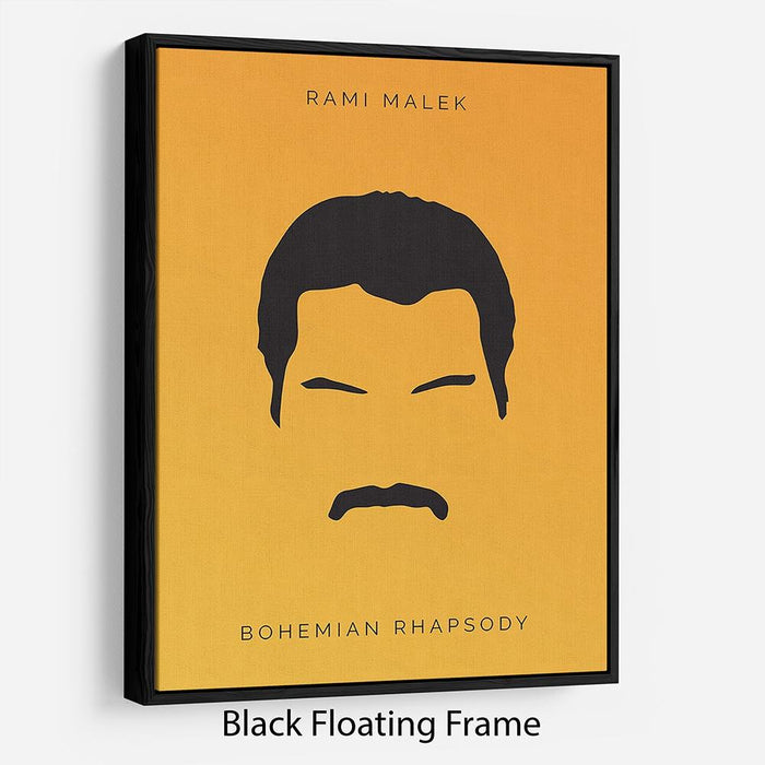 Bohemian Rhapsody Rami Malek Minimal Movie Floating Frame Canvas