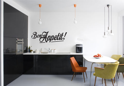 Bon Appetit Wall Sticker - They'll Love Wall Art - 1