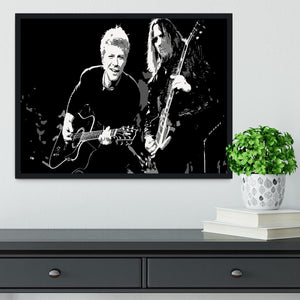 Bon Jovi Framed Print - Canvas Art Rocks - 2