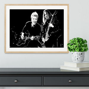 Bon Jovi Framed Print - Canvas Art Rocks - 3