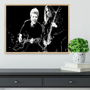 Bon Jovi Framed Print - Canvas Art Rocks - 4
